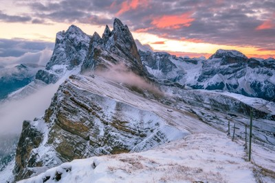 Seceda - Icy Morning