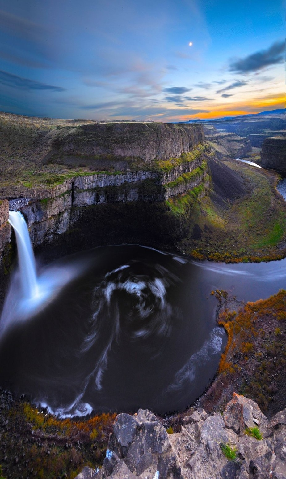 Palouse Falls by squilliamtennisballs - Our Natural Planet Photo Contest