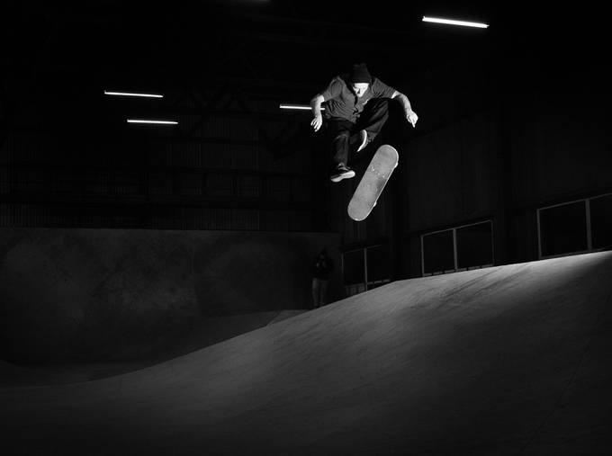 Shot this around year ago for Tikari skateshop.Riga.2015
