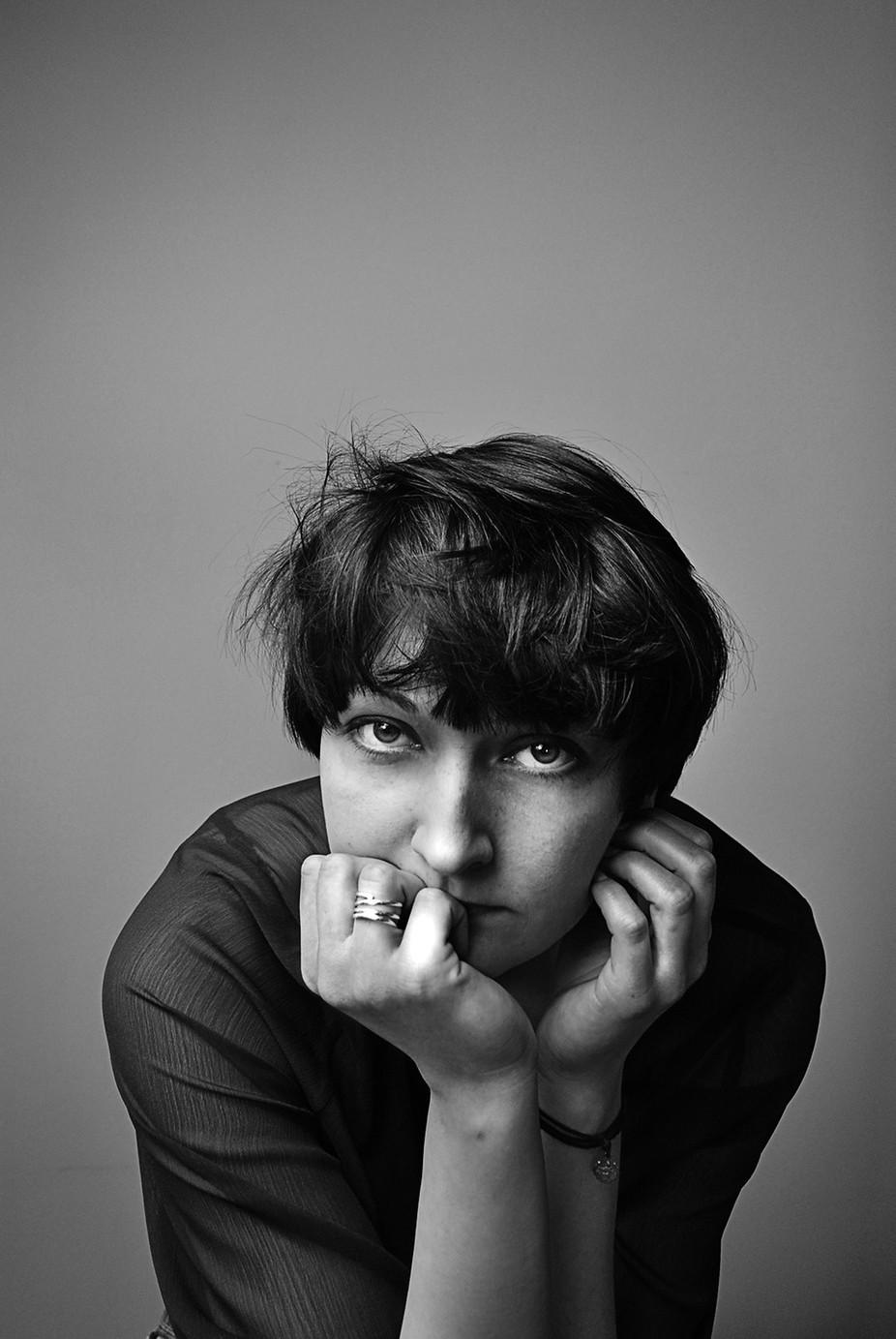 Karola by malvinette - Black And White Female Portraits Photo Contest