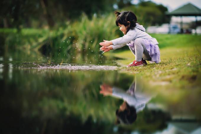 Delphie by Despird - Kids And Water Photo Contest