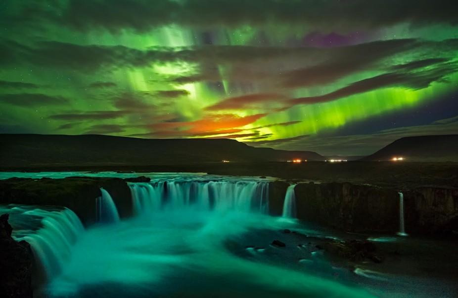 Aurora Borealis, Iceland, 27/9/16.