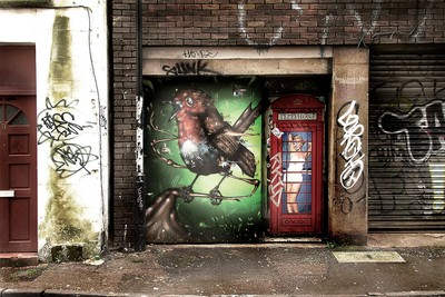 Aspire Art & D7606 on Charles Street Bristol