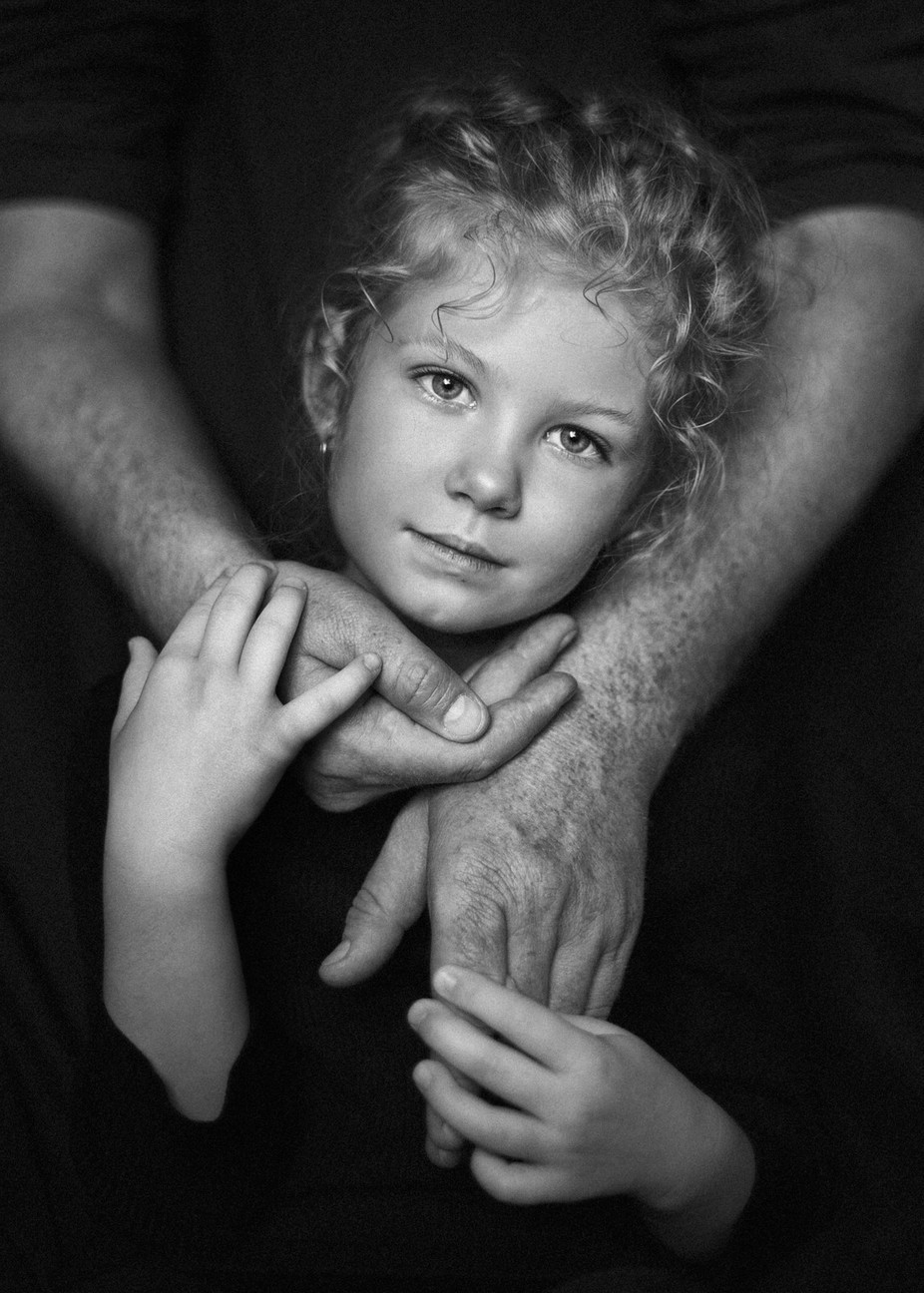 Father's hands by LisaAnfisa - We Love Our Dads Photo Contest
