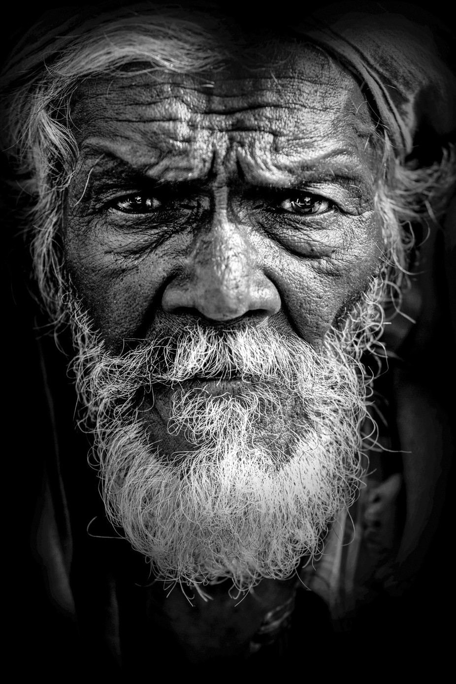 Indian Man by duncanheather - A World In Black And White Photo Contest