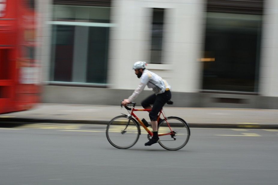 London has many bikers although this is still a controversy as there has been many road accidents...