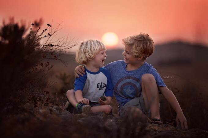 The Boys by SaraEvansPhotography - Children In Nature Photo Contest