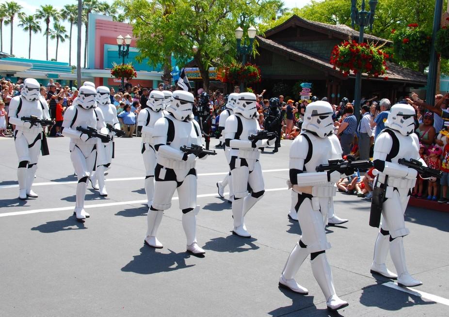 Storm Trooper parade