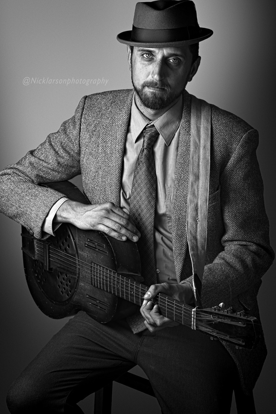 Jason by NickLarsonPhotography - Musical Instruments Photo Contest