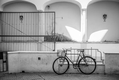 Bike in Seville Couryard