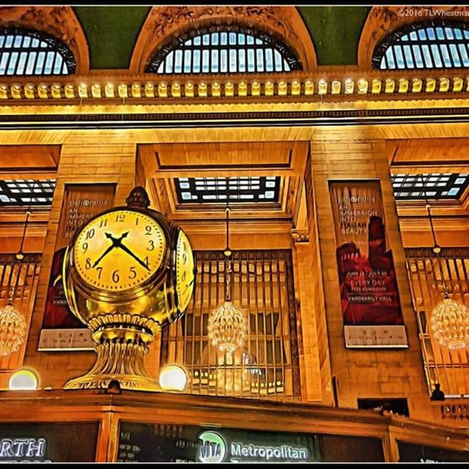 Grand Central Terminal and it's orbs.