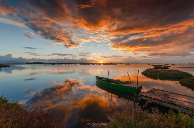 the boat at dawn by danieledessi - Fish Eye And Wide Angle Photo Contest