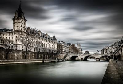 The Seine at Paris ...