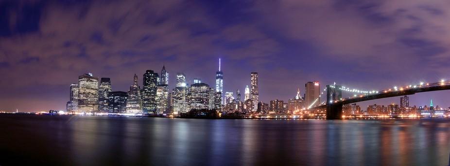 Panorama Manhattan New York