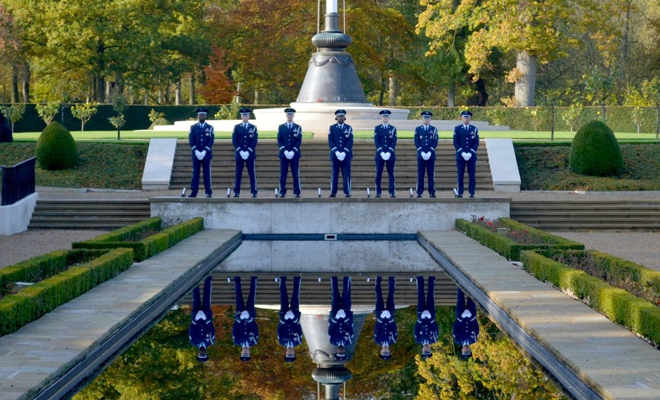 Veterans Day at Cambridge American Cemetery 2016