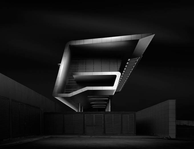 Swoopy---G by sajinsasidharan - Black And White Architecture Photo Contest