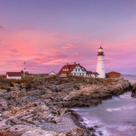 This beautiful lighthouse is one of the most  photogenic I've ever had the pleasure  to shoot.  Very lucky yesterday to get a great sunset t...
