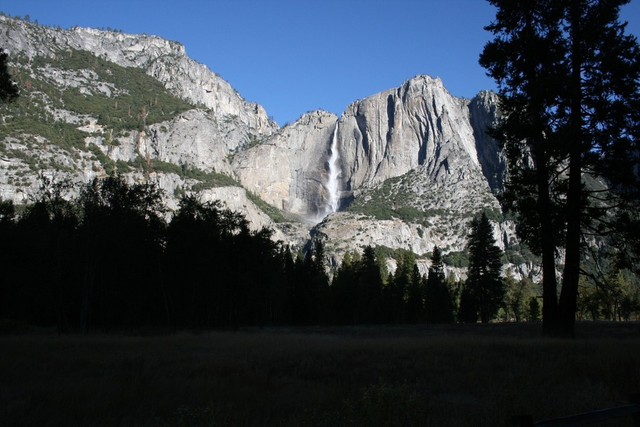 Yosemite Water Fall Beauty Shot1