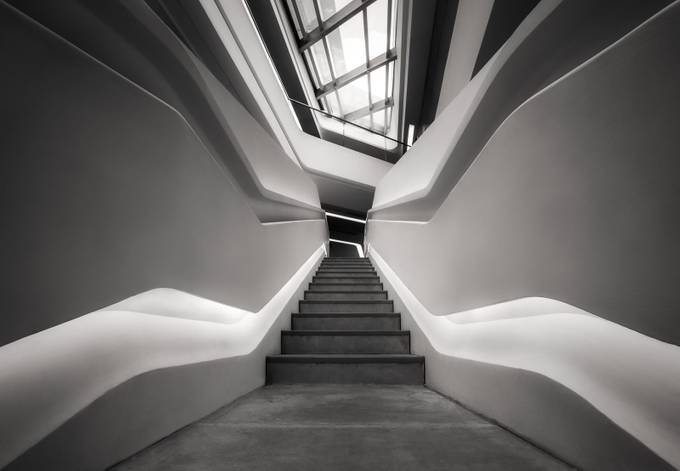 Hong Kong Polyu School of Design by SarahCaldwell - Stairways Photo Contest