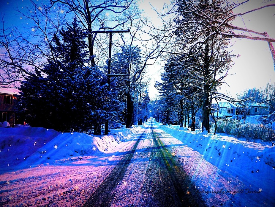 Barton Avenue Winter