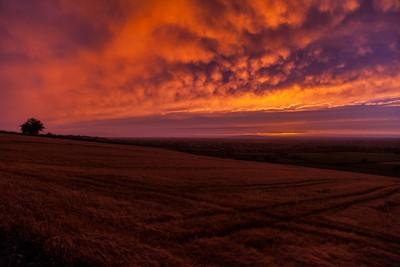 Tullig sunset, Co. Kerry