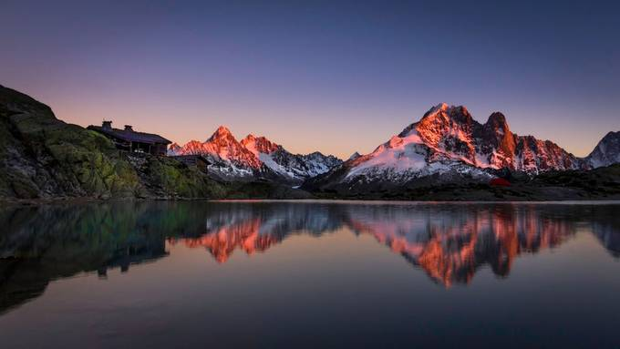 Lac Blanc by alindinu - Lakes And Reflections Photo Contest