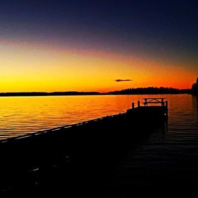 Below 0 Sunset