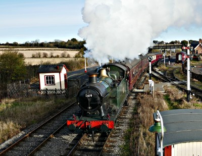 Steaming out of Swanwick Junction