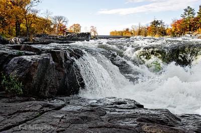 Burleigh Falls - Flowing Fast