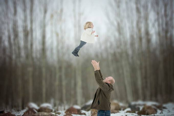 Weeeeee by PaigeLaroPhotography - Family In The Holidays Photo Contest