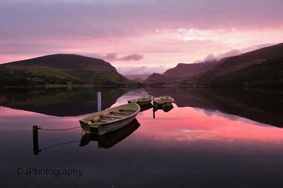 Llyn Nantle sunrise