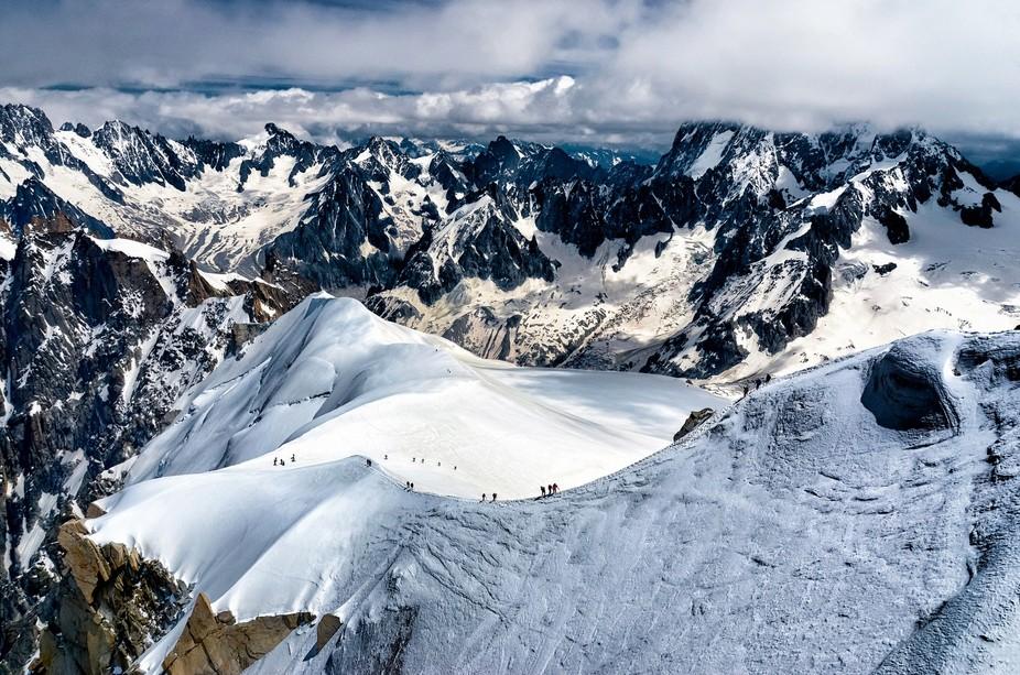 Aiguille du Midi Chamonix Mont-Blanc, France