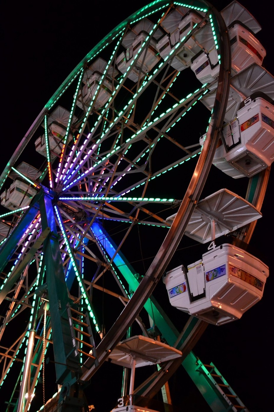 Shot on my way out of the carnival. Straight out of camera