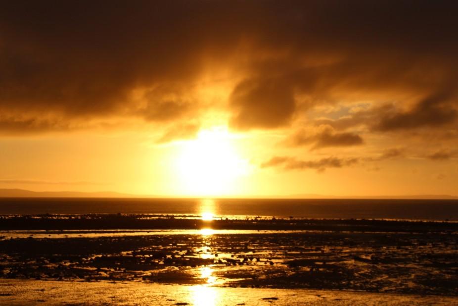 Sunrise at Luce Bay