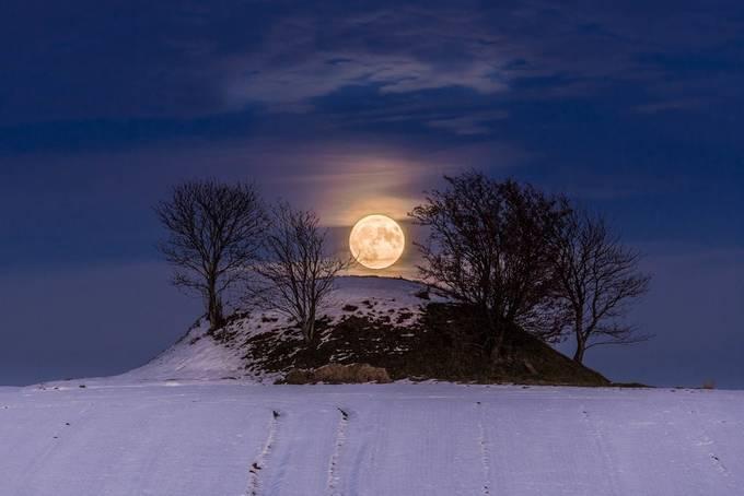 Supermoon by elmerjensen - The Moonlight Photo Contest