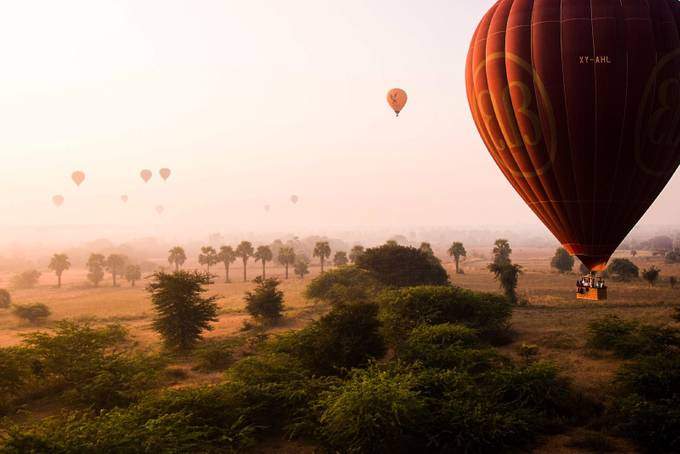 Bagan  by EleonoraMarangi - Show Balloons Photo Contest