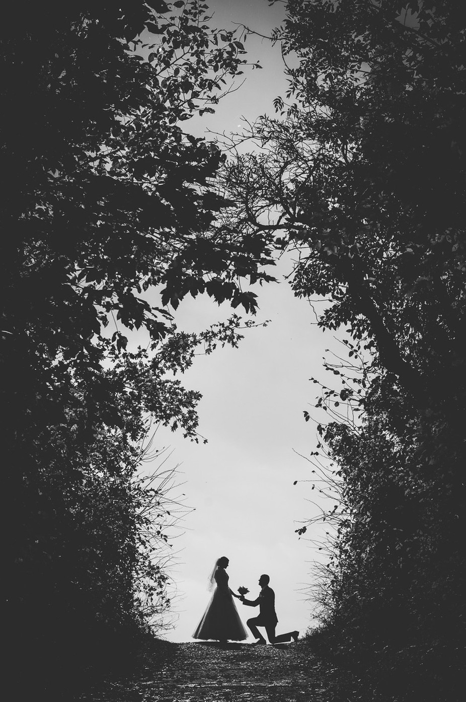 Romance by ErikSvec - Everything In Black And White Photo Contest