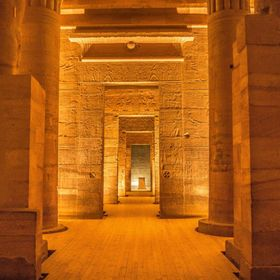 The Ancient Egyptians built a beautiful and magnificent Temple on this island for the Goddess Isis, but the Temple became submerged after the fi...