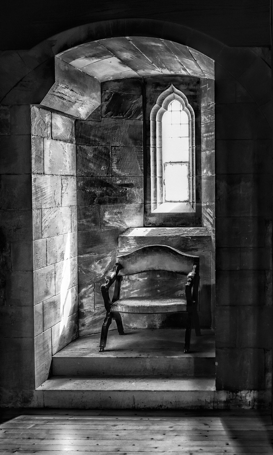 Taken in Bamburg Castle in Northeast England. by R_Tom_Sizemore_III - Simple Architecture Photo Contest