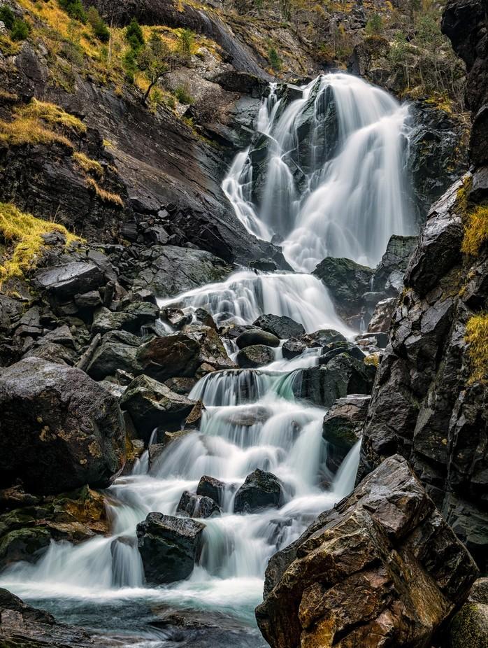 Laatefoss waterfall, Odda, Norway by fthorsen - Beautiful Waterfalls Photo Contest