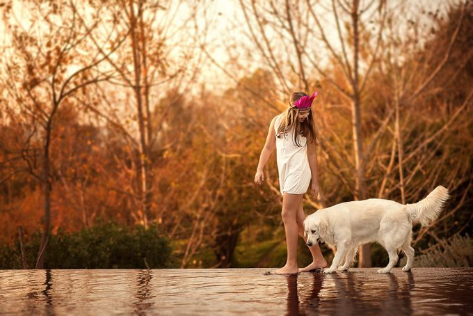 Pool by contamestorias - Kids And Pets Photo Contest