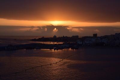 Sandstorm Sunset