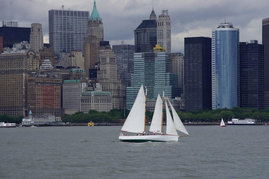 Sailing by Manhattan