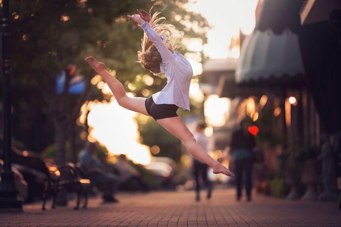Sidewalk Dancer by CourtneyBlissett - Lets Dance Photo Contest