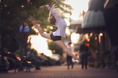 Sidewalk Dancer