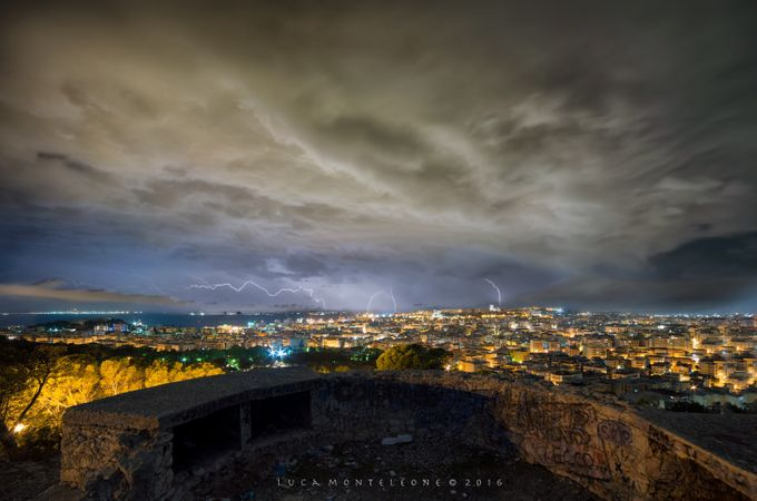 Lighting Storm by lucamonteleone - A Storm Is Coming Photo Contest