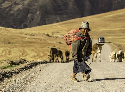 THE LITTLE PEOPLE OF PERU