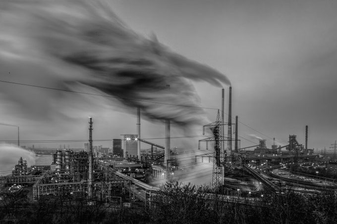 Industrial Tornado by Arbustus - Industry Photo Contest