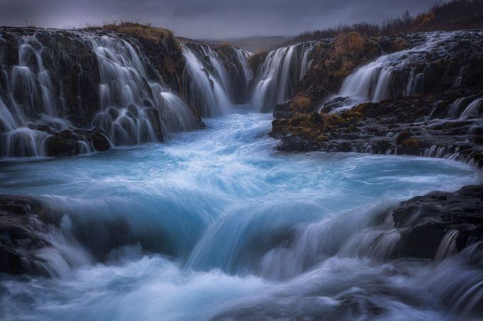 the amazing bruarfoss by Angus80 - Beautiful Waterfalls Photo Contest