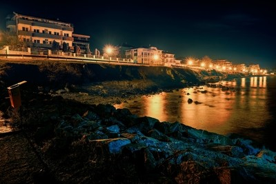 Seashore at Night